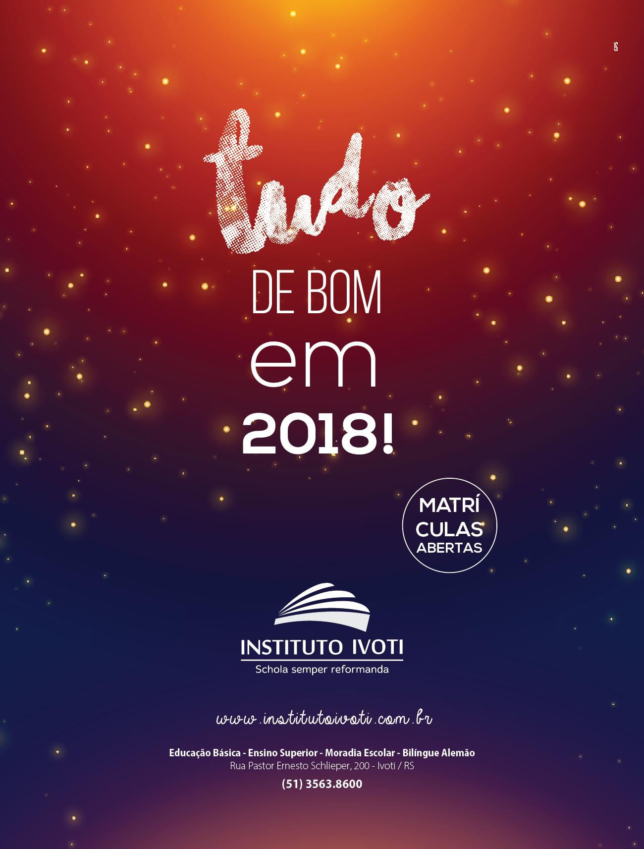 Anúncio Fim de Ano – Instituto Ivoti